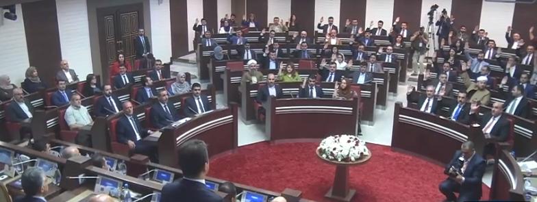 پهرلهمانی كوردستان متمانهی بهخشیه كابینهی نویهمی حكومهتی ههرێم