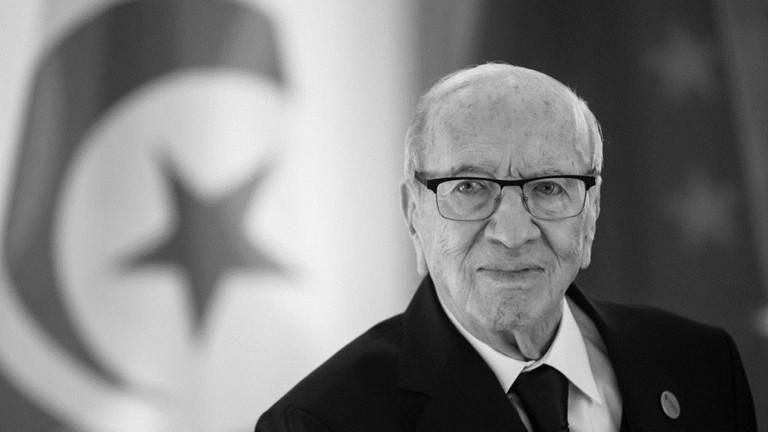ئهمڕۆ سهرۆكی تونس له تهمهنی 93 ساڵیدا كۆچی دوایكرد