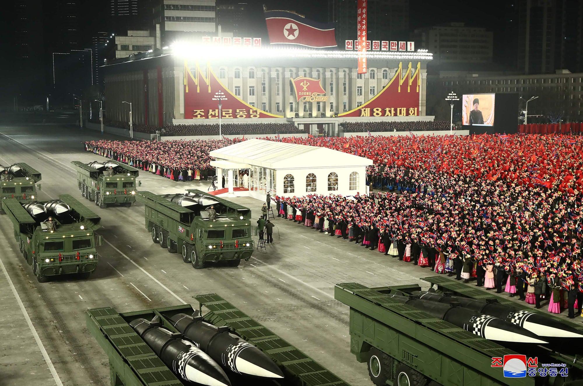 کۆریای باکور موشەکێکی بالستی نوێی نمایشدهكات
