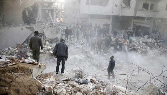لههێرشهکانى سوریا بۆ سهر ئیدلیب چهندین کهس بوونه قوربانى