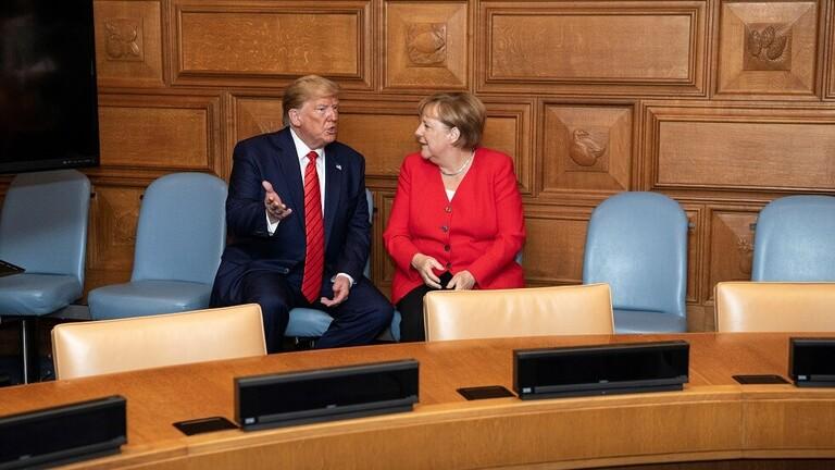 مێركڵ و ترامپ گفتوگۆیان لهبارهی كێشهكانی رۆژههڵاتی ناوهڕاست كرد