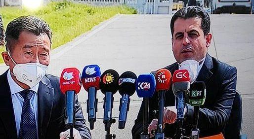 وهزیری تهندروستی:  تیمێكی پسپۆڕی چین دهگهنه ههرێمی كوردستان